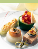 Dining on Air France